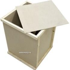 Деревянная коробка для упаковки самовара