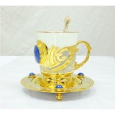 Кофейный набор Лазурит