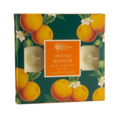 Набор из 9 ароматических чайных свечей Цветок апельсина