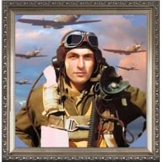 Оригинальный портрет летчику