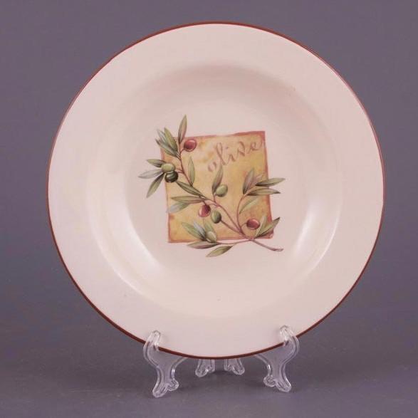 Набор тарелок Олива