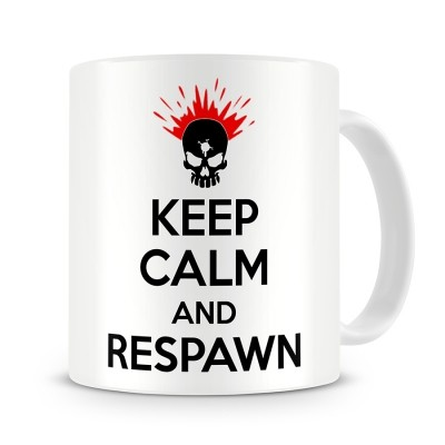 Кружка Keep calm and respawn