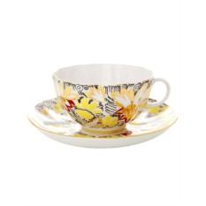 Чайный сервиз на 6 персон Золотые ромашки