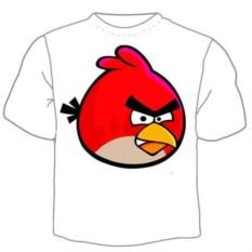 Детская футболка Angry birds Красная птица