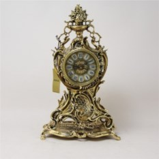 Бронзовые каминные часы Ласу Кришта