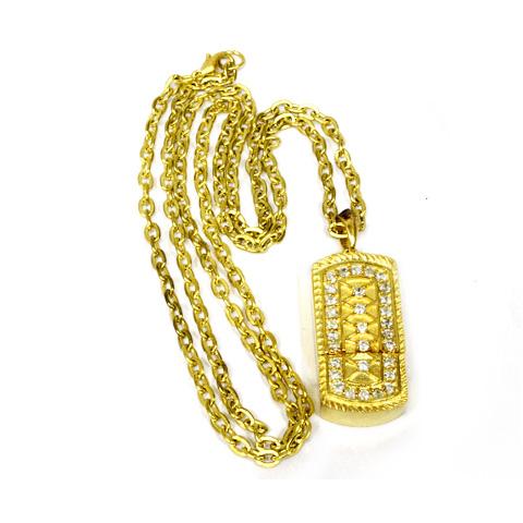 Флэшка «Золотой кулон»