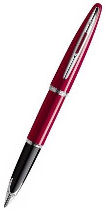 Перьевая ручка Waterman Carene, цвет красный/черный