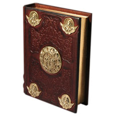 Элитная книга «Православный Молитвослов с литьем»