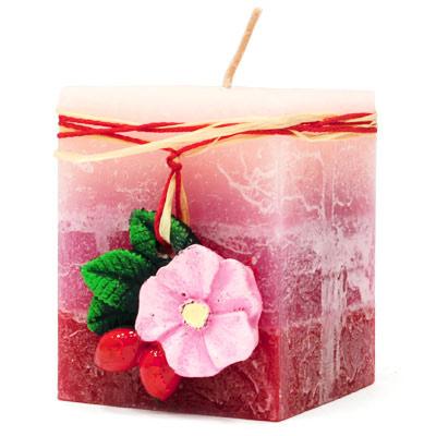Свеча «Дикая роза»