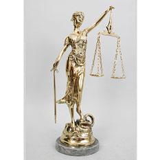 Статуэтка «Правосудие»