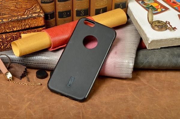Ультратонкий чехол-накладка из силикона для iPhone 6S/6