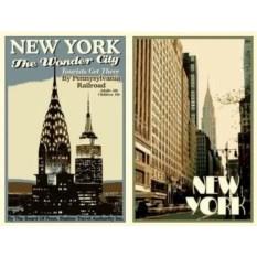 Обложка на паспорт New York