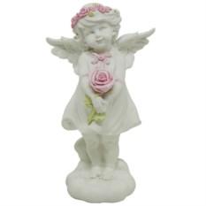 Ландшафтная фигурка для дачи и сада Ангелочек счастья