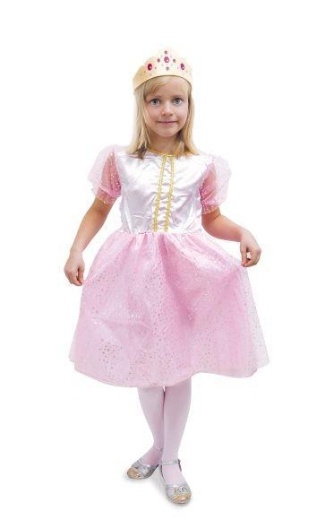 Костюм Принцесса, розовый, р-р 116см-122см