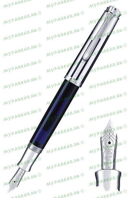 Перьевая ручка Pelikan Souveran Dark-Blue