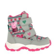 Серые сноубутсы для девочек Peppa Pig
