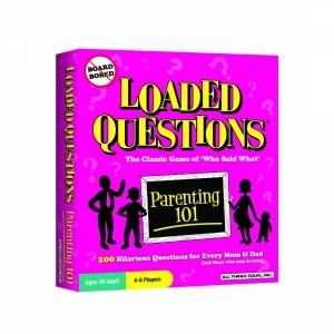 Игра на английском языке Loaded Questions: Parenting 101