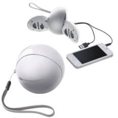 Портативные беспроводные колонки для смартфона 2х1,5 Вт