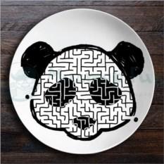 Набор тарелок лабиринтов ЗооЛаб