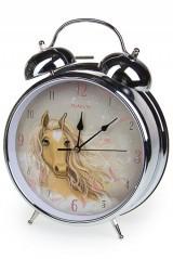 Настольные часы Волшебная лошадь, с будильником