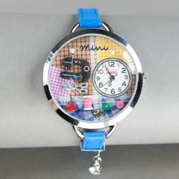 Голубые часы «Миниатюра»
