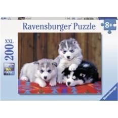 Пазл Ravensburger Маленькие хаски, 200 элементов