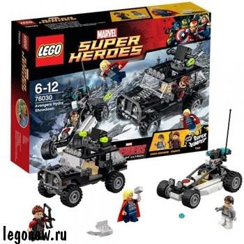 Конструктор Гидра против Мстителей Lego