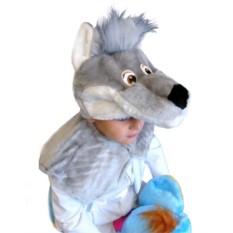 Карнавальная шапочка Волчонок