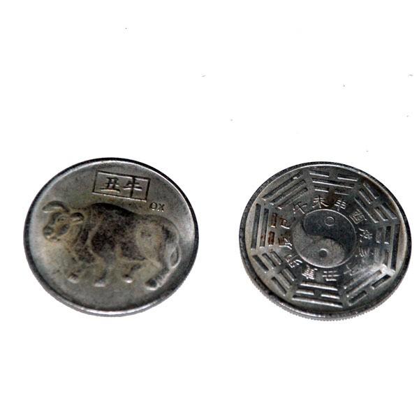 Счастливая монета Год быка