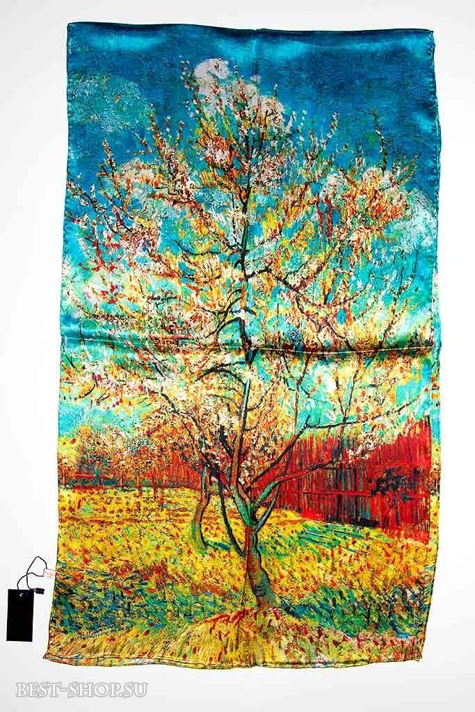 Палантин Персиковое дерево