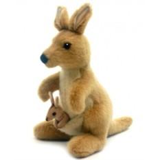 Мягкая игрушка Hansa Кенгуру, 20 см