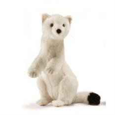 Мягкая игрушка Hansa Белый горностай