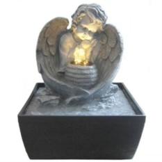 Настольный декоративный фонтан Мечты Купидона с подсветкой