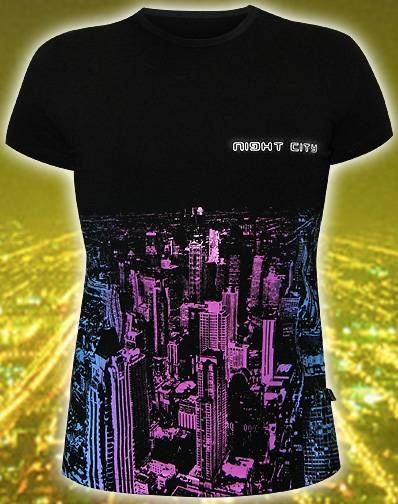 Мужская футболка Night City