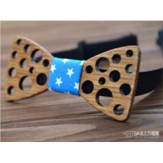 Бабочка-галстук Горошек