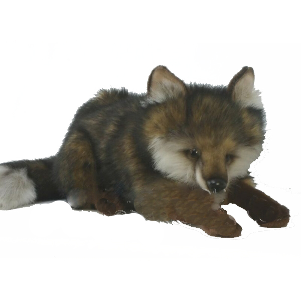 Волк лежащий