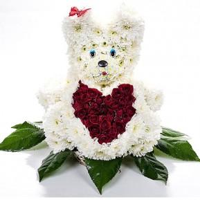 Игрушка из цветов С любовью