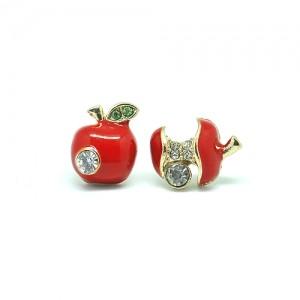 Серьги-гвоздики Apple