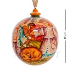 Елочный шар Осень (художественная роспись)