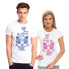 Парные футболки Мурр – мяуу