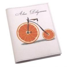 Обложка для автодокументов Апельсиновое настроение