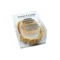 Кристалл свежести в бамбуковой корзинке и пластиковой коробке