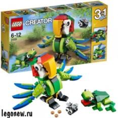 Конструктор Lego Creator Животные джунглей