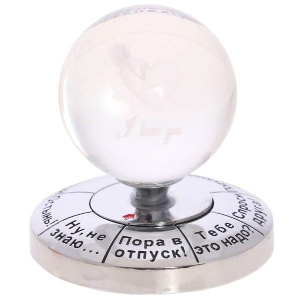 Приниматель решений Серебро (шар для принятия решения)