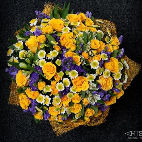 Букет цветов Рассвет