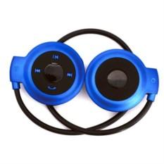 Синие беспроводные наушники Mini503 bluetooth с mp3-плеером