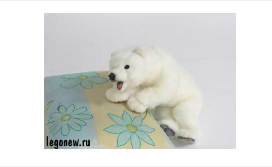 Мягкая игрушка Hansa Детеныш белого медведя