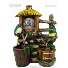 Настольный фонтан с подсветкой Птички