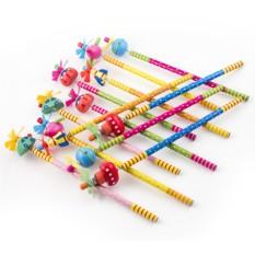 Набор карандашей на пружинке №5