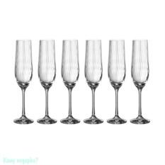 Набор бокалов для шампанского Waterfall